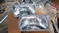 Pair New Genuine Front Headlamps Mk2 Fiesta